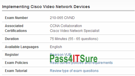 Latest Certification Center] Up To Date Cisco 210-065 Dumps CIVND ...