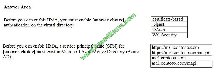 pass4itsure ms-202 exam question q4-1