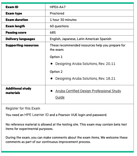 HPE6-A47