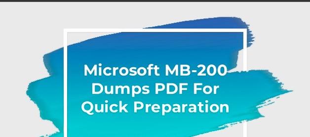 Microsoft MB-200 dumps