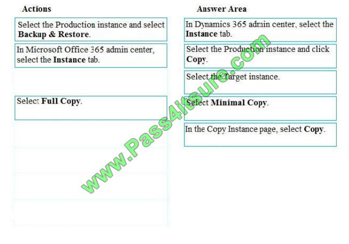 Pass4itsure Microsoft MB-200 exam questions q13-2